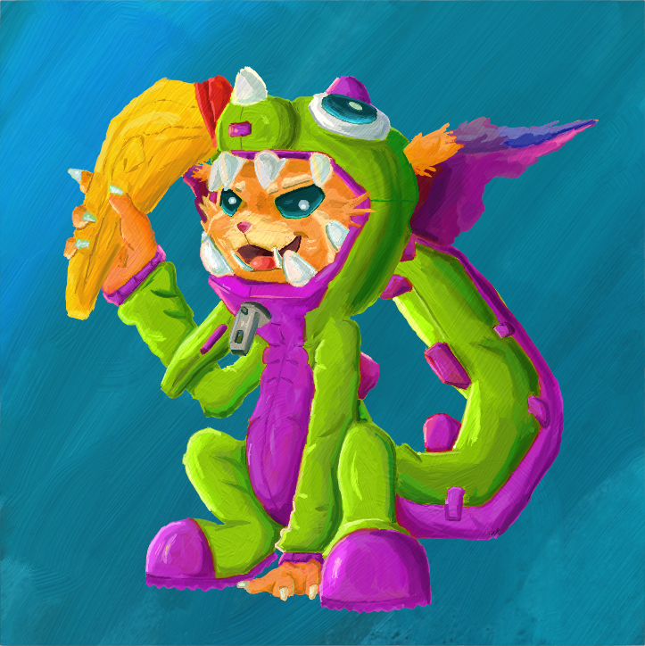 Gnar, The Missing Link by MysteriousKaos