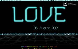Tron Inspired Desktop