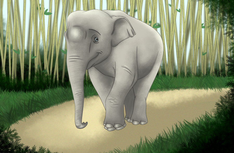 Elephant by Valvador