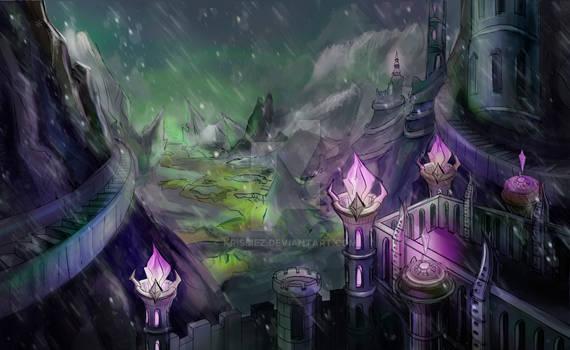 The Castle of Warlock