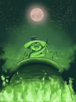 Little witch by nvalchemist