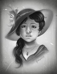 Amelia  portrait  commission