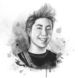 Zach Portrait sketch