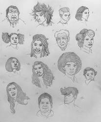 Different Faces and Ages Study 2020