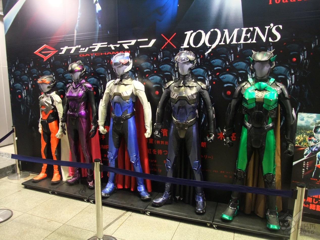gatchaman movie suits   shibuya by stretchygalfan on