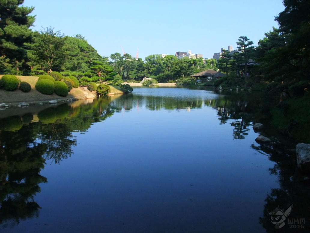 Shukkei-en Garden- Hiroshima by StretchyGalFan on DeviantArt