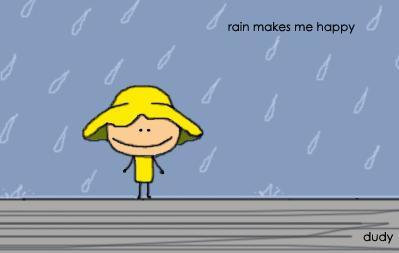 Rain makes me happy by Dudy11