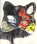 Sketchbook- Cat mask