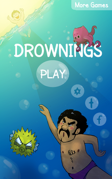 Drownings Titlescreen