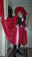 Red Death - Costume 2010 by Feral-Instinct