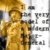 Modern Major General by Blue-Hawk-Dreaming