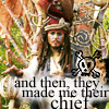 Chief Pirate by Blue-Hawk-Dreaming
