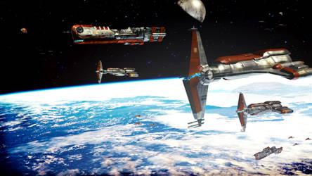 Old Republic strike fleet ready