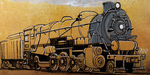 PRR L1s Mikado Locomotive by sketchesofpayne