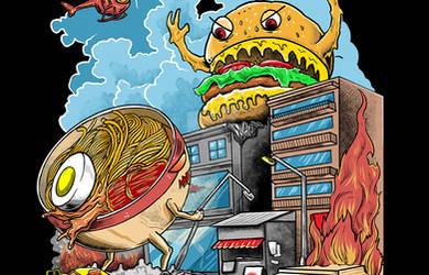 Ramen vs Hamburger
