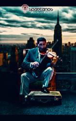 The violinist by luedsontkd