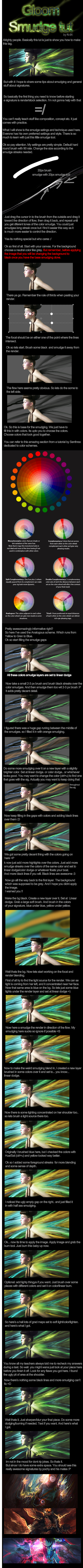Smudge Signature Tutorial by N-95