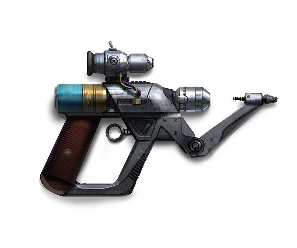 Tesla gun by Sinyavsky on DeviantArt