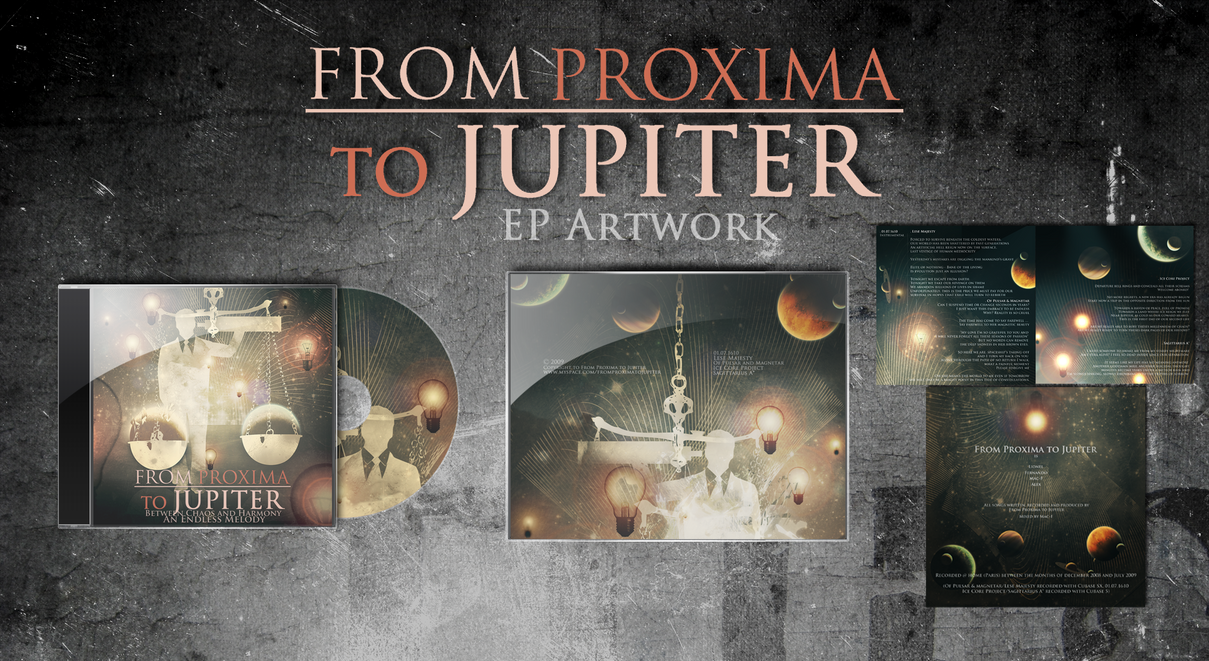 From Proxima to Jupiter EP Art by Survulus