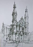 Baroque church II by Alphirin
