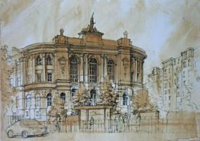 The Warsaw Polytechnic II by Alphirin