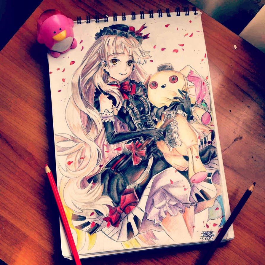 MAYU VOCALOID by arpegius1997