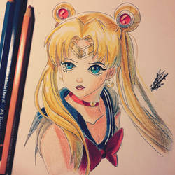 sailor moon re draw
