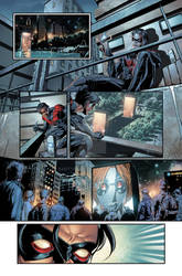 Nightwing sample page: art by Will Conrad
