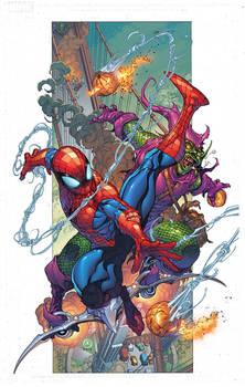Spiderman GreenGob BART