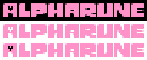 Alpharune Logo Concepts
