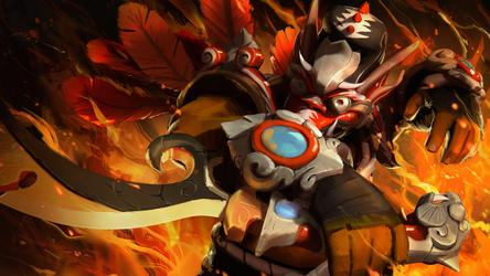 Dota 2 Juggernaut Set: Garuda's Might
