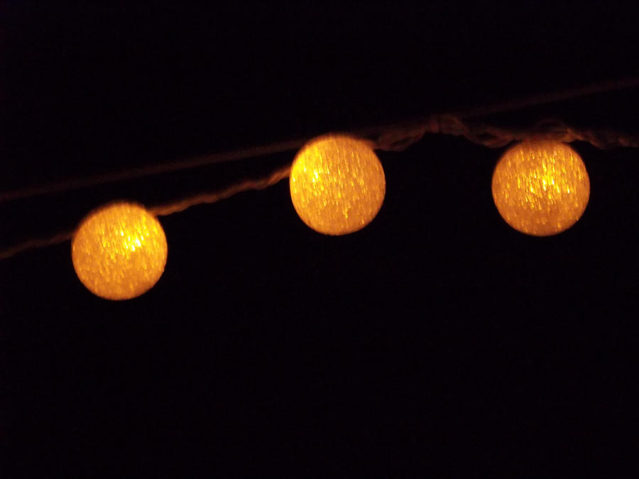 Artsy String Lights : String of Lights by A-Little-Demonic
