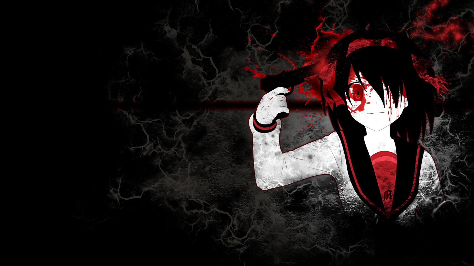 Haruhi gore by eurunik on deviantart for Imagenes de anime gore