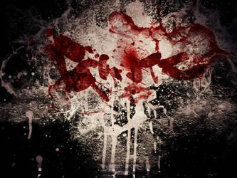Gantz Wall blood by eurunik