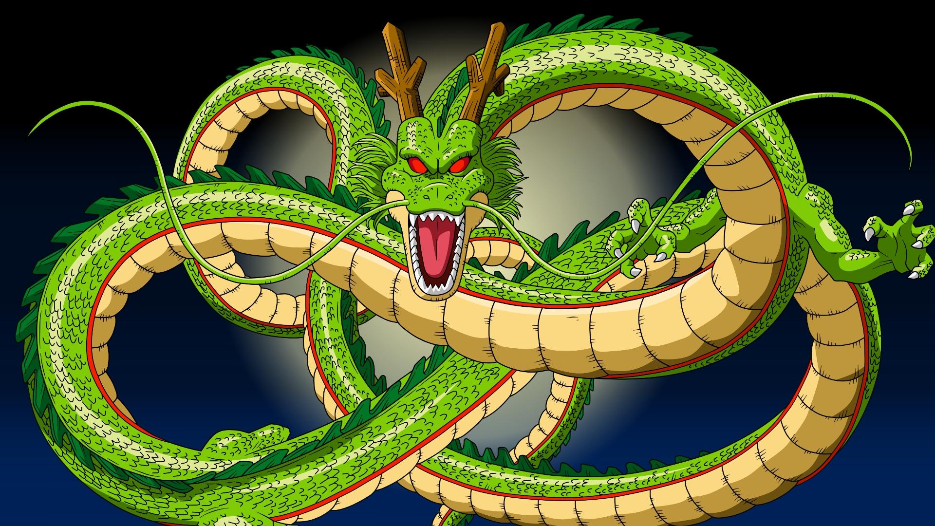 dragon ball z 7 dragon balls shenron wallpaper