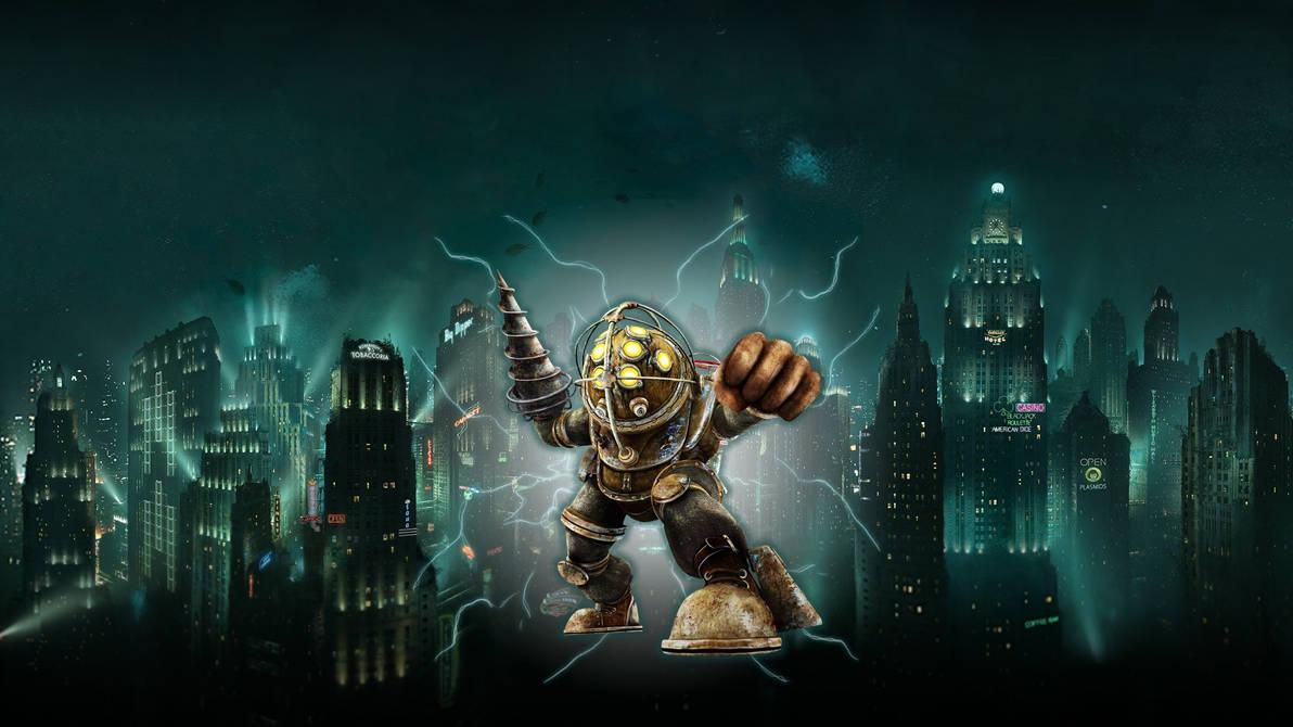 Big Daddy - Bioshock Wallpaper by SuperAgua ...