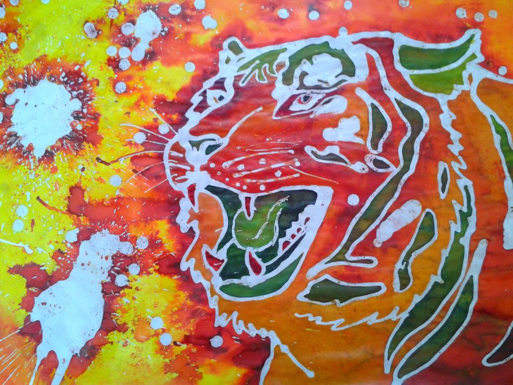 Batik tiger by Timi-Air on DeviantArt