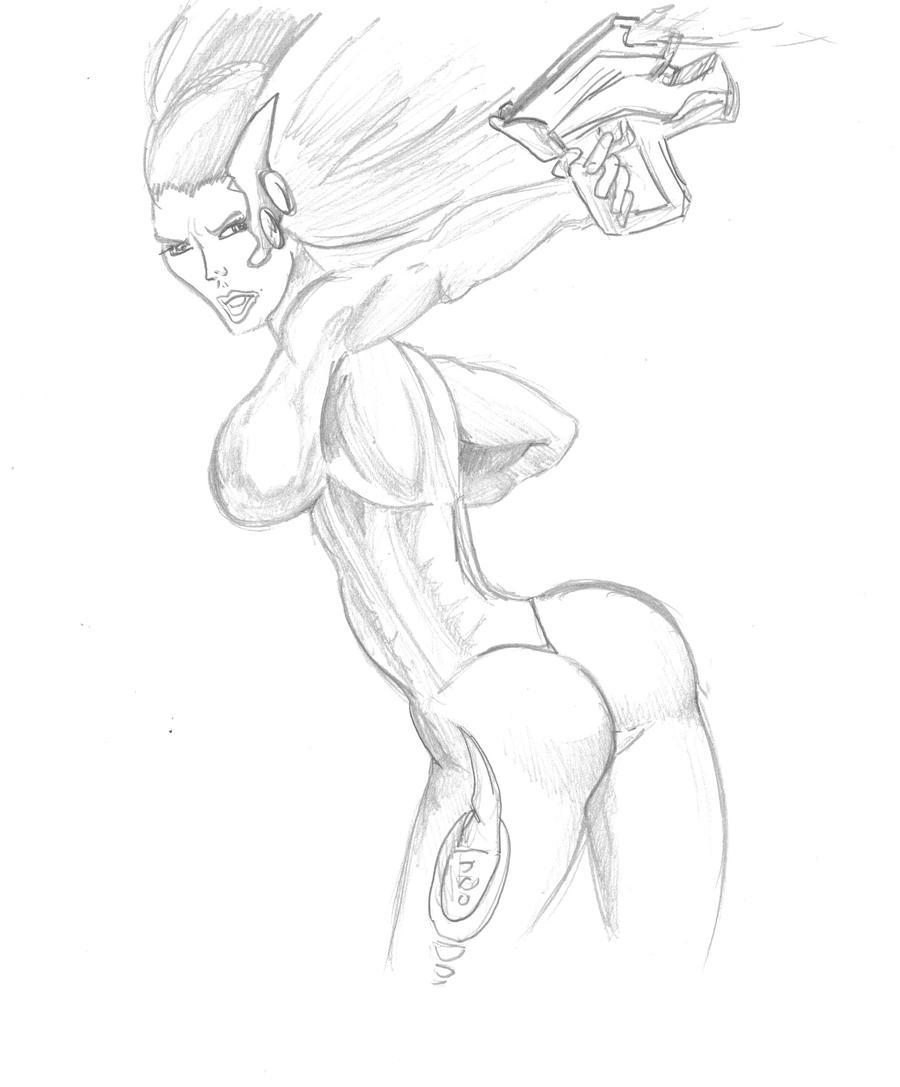 Mes dessins <3. Comics_test_girl_sf_by_visu_kei-d5mlpol
