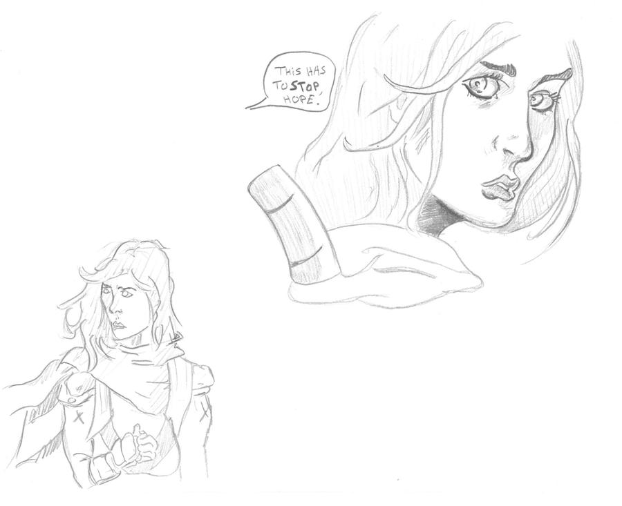 Mes dessins <3. Comics_test_mutant_by_visu_kei-d5mlzeu