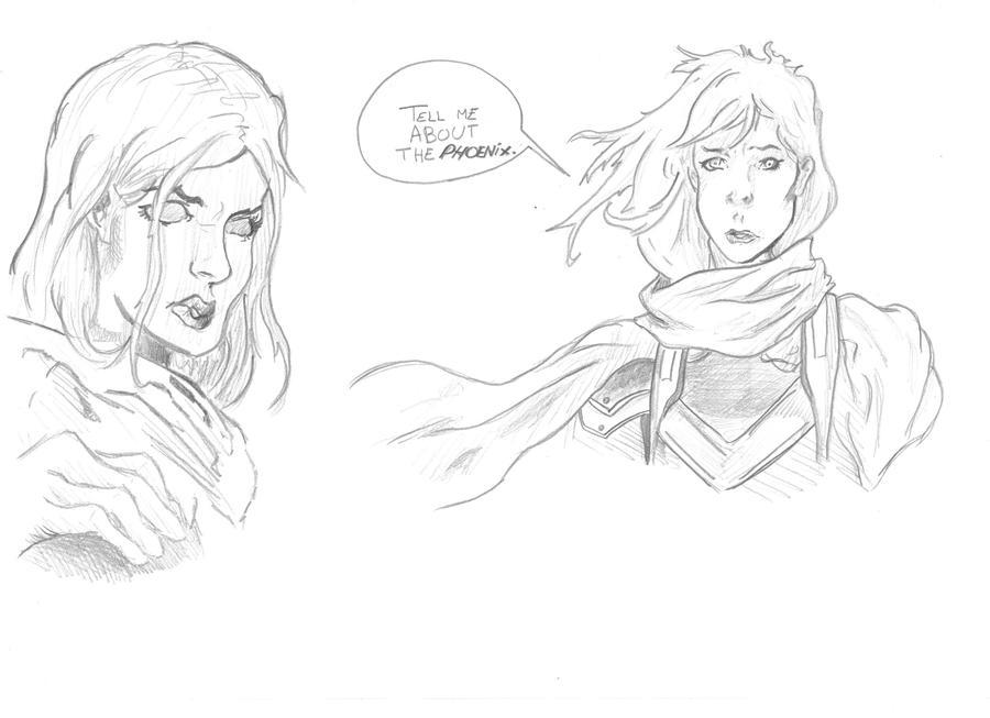 Mes dessins <3. Comics_test_mutant_by_visu_kei-d5mmk5q