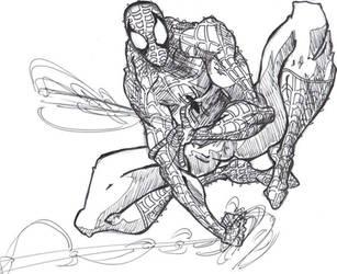 Spidey Spider Man By Visu Kei by Visu-Kei