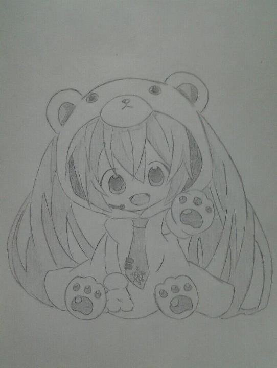 Hatsune Miku (Chibi) by Yoruny