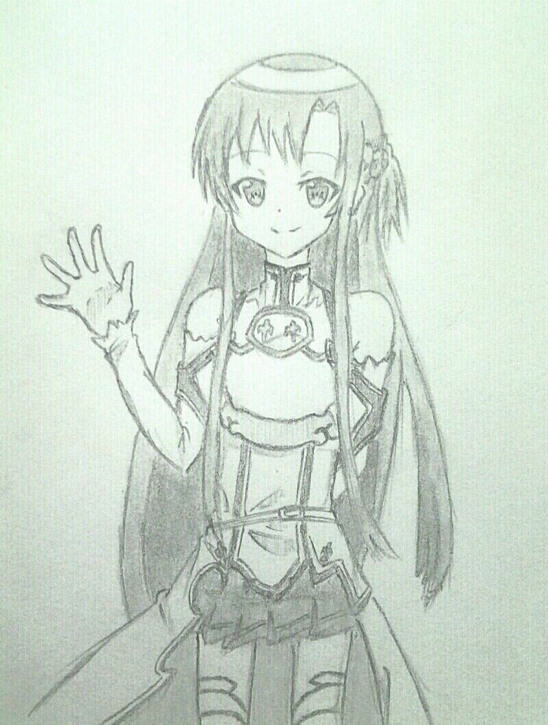 Yuuki Asuna by Yoruny