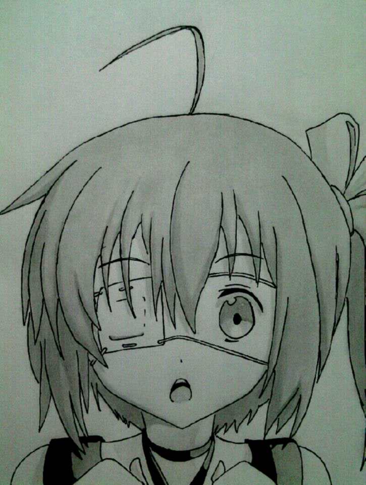 Takanashi Rikka by Yoruny