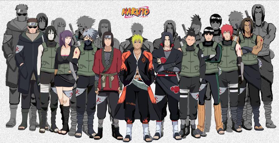 Naruto as Anbu Black Ops