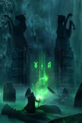 Epic Fantasy Magical Hidden Doorway