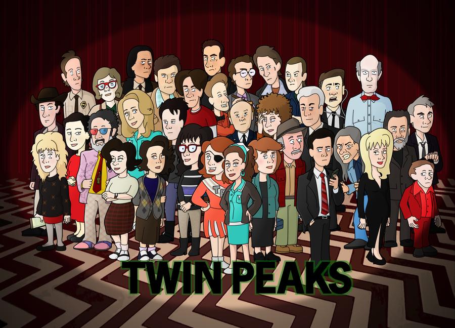 Twin Peaks Group by neoalxtopi