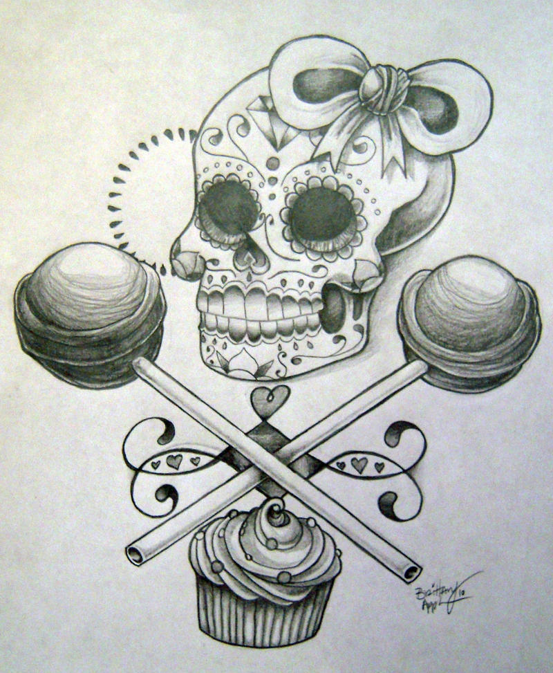Feminine Sugar Skull Art Daily Motivational Quotes