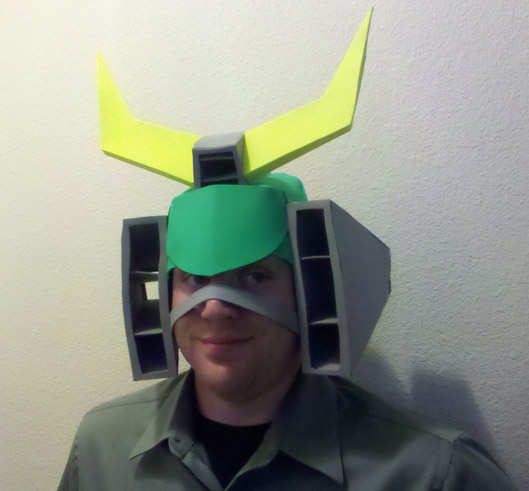 Solardive Helmhat Front Angle by Laserbot