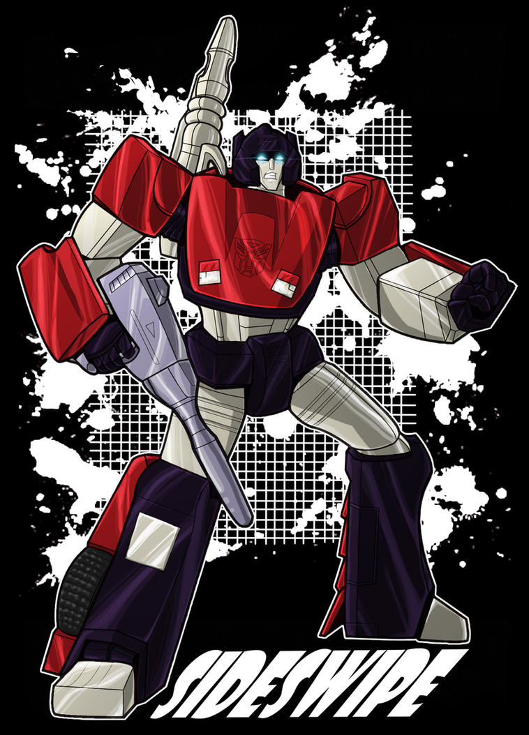 Sideswipe T Design by Laserbot